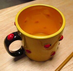 Department 56 Ladybug Ceramic Mug Gardener Gift Gardening insect