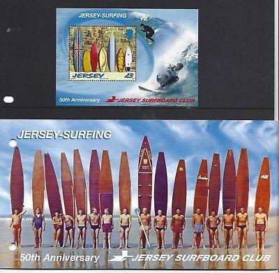 Usado, Jersey 2009 Surf Hoja Miniatura Presentación Paquete Nuevo sin Montar, MNH segunda mano  Embacar hacia Spain