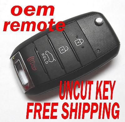 Oem 2014 2015 Kia Sorento Flip Key Keyless Remote Fob Tq8 Rke 3F05 95430 1U500