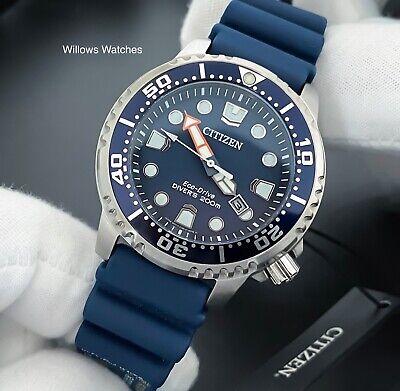 Citizen Promaster Eco-Drive Men's 200M Blue Dial Divers Watch BN0151_17L New