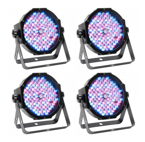 (4) American DJ Mega Par Profile Plus LED Par Can Wash Effect Lights - Open Box
