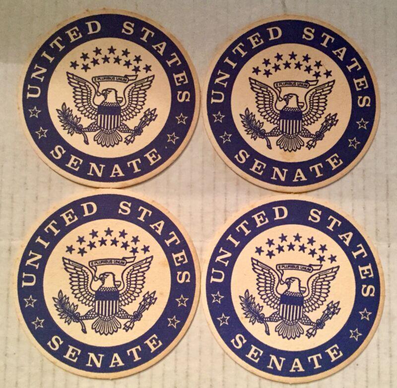 United States Senate Cardboard Coasters Set Of 4