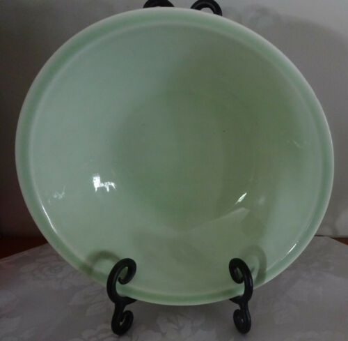 VTG. SHENANDOAH PASTEL GREEN SERVING BOWL B-51