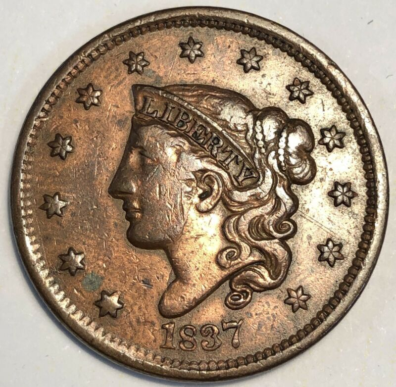 1837 Matron Large Cent.