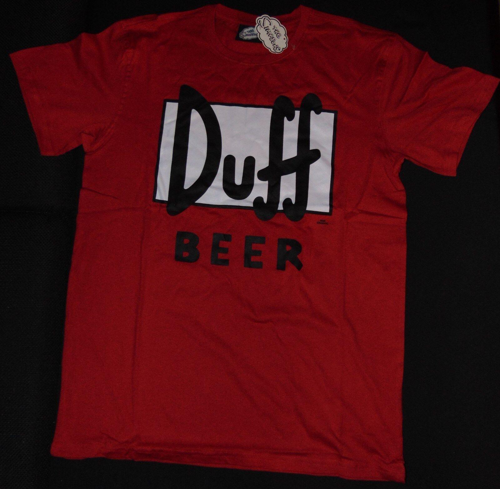 T-Shirt Duff Beer Homer Simpson The Simpsons Duffman Moe Barney rot