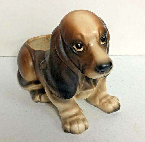 Vintage Napcoware BASSET Hound Dog Planter