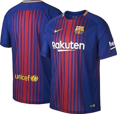 Nwt Nike Fc Barcelona Vapor Match Home Jersey 2017 2018