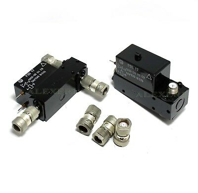 Coaxial Antenna Relay Spdt 75 Ohm Rev-17 Rew-17 Connectors