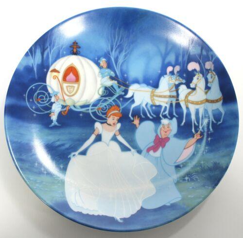 Disney CINDERELLA 1988 Art Plate, Bibbidi-Bobbidi-Boo 1st in series Knowles COA