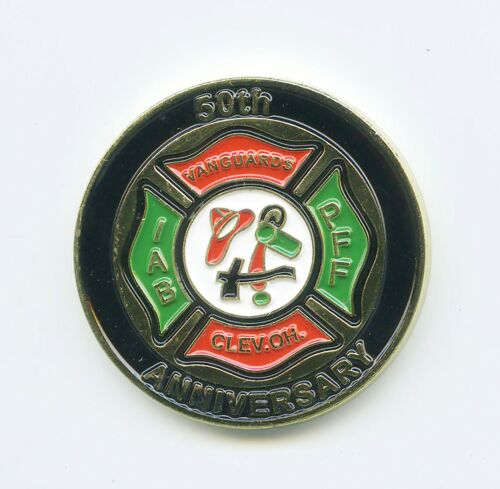International Association of Black Professional Firefighters  CHALLENGE COIN