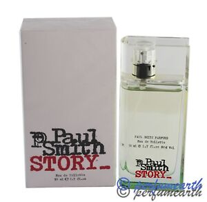 PAUL SMITH STORY 1.7 OZ EDT SPRAY FOR MEN BY PAUL SMITH & NEW IN A BOX