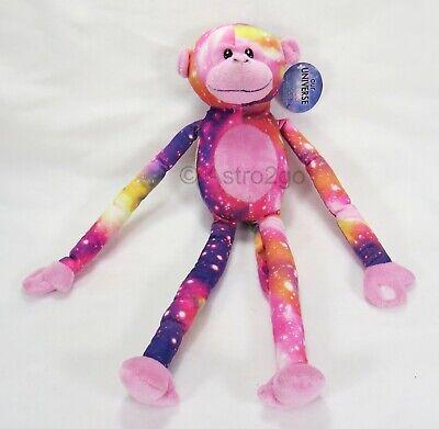 PINK MONKEY--Fiesta Plush Stuffed Animal Universe Galaxy Spa