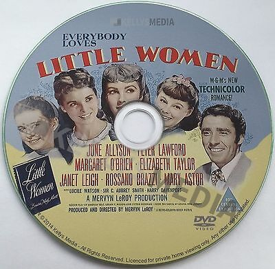 LITTLE WOMEN (1949) JUNE ALLYSON, ELIZABETH TAYLOR & JANET LEIGH - DVD