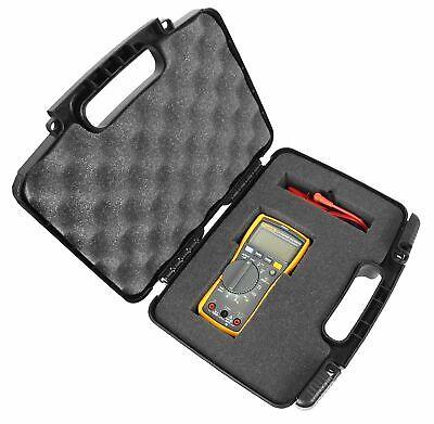 Rugged Digital Multimeter Carrying Travel Hard Case With Dense Foam Fits Fluke