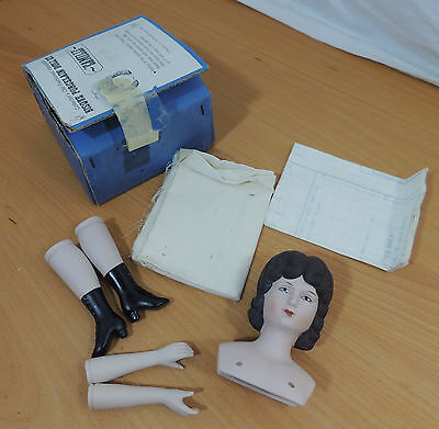 Shackman CAMILE Bisque Porcelain Doll Kit