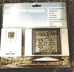 NEW ACURITE THERMOMETER FORECASTER Clock 00787 Remote Wireless Indoor/Outdoor