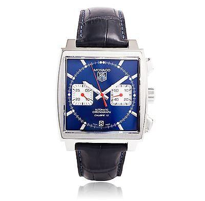 TAG HEUER Monaco Calibre 12 Chrono Gents Watch CAW2111.FC6183 - RRP £4600 - NEW