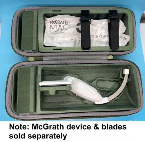 McGrath Video Laryngoscope Case Custom 3D printed - GREEN - (Best Offer Listing)
