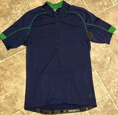 4c056ce4d Ibex Cycling 100% Merino Wool Shirt Jersey Medium Ibex