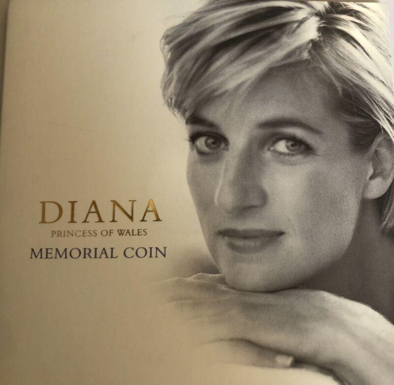 DIANA PRINCESS OF WALES MEMORIAL COIN 1999