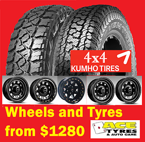 Kumho tyre and wheel package Specials Tingalpa Brisbane South East Preview