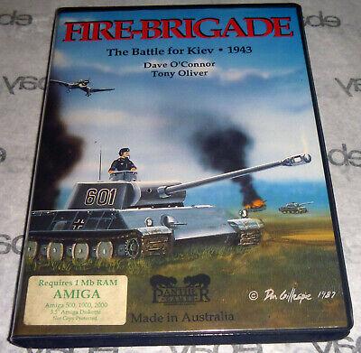 Commodore AMIGA 100% Complete FIRE BRIGADE The Battle for Kiev 1943 War Big Box