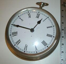 Aluminum  Old-Time Pocket Watch Design Wall Clock