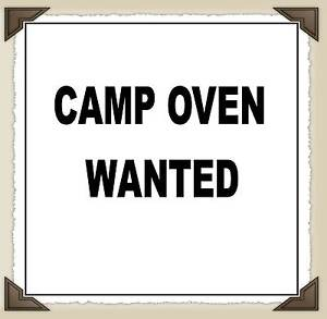 WANTED To Buy - Camp Oven & Furphy Water Fountain Cast Iron Adelaide CBD Adelaide City Preview