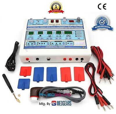 Electrotherapy-physiotherapy-electronic-stimulator-multi-current-machine