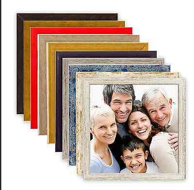 Holz Quadratischen Tisch (Holz Bilderrahmen quadratisch 10x10 15x15 20x20 30x30 40x40 50x50 Rahmen Bild)