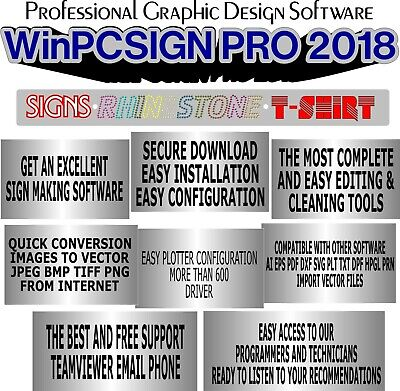 Upgrade Sign Making Software Winpcsign 2018 Online Activation