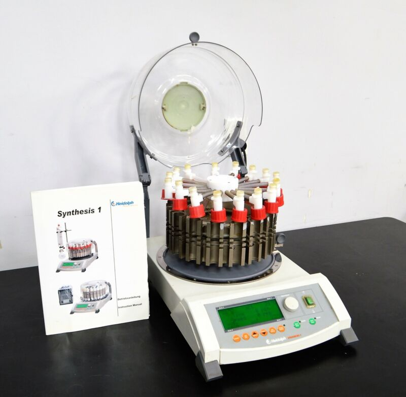 Heidolph Synthesis 1 Liquid Phase Parallel Synthesizer Reaction Vessel