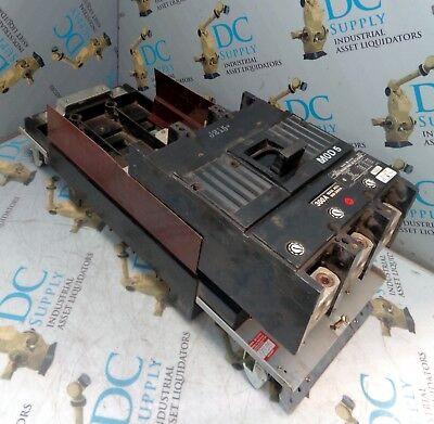 GENERAL ELECTRIC TJK436F000 300 A CIRCUIT BREAKER W AMC6JK 1200 A MOUNTING MOD