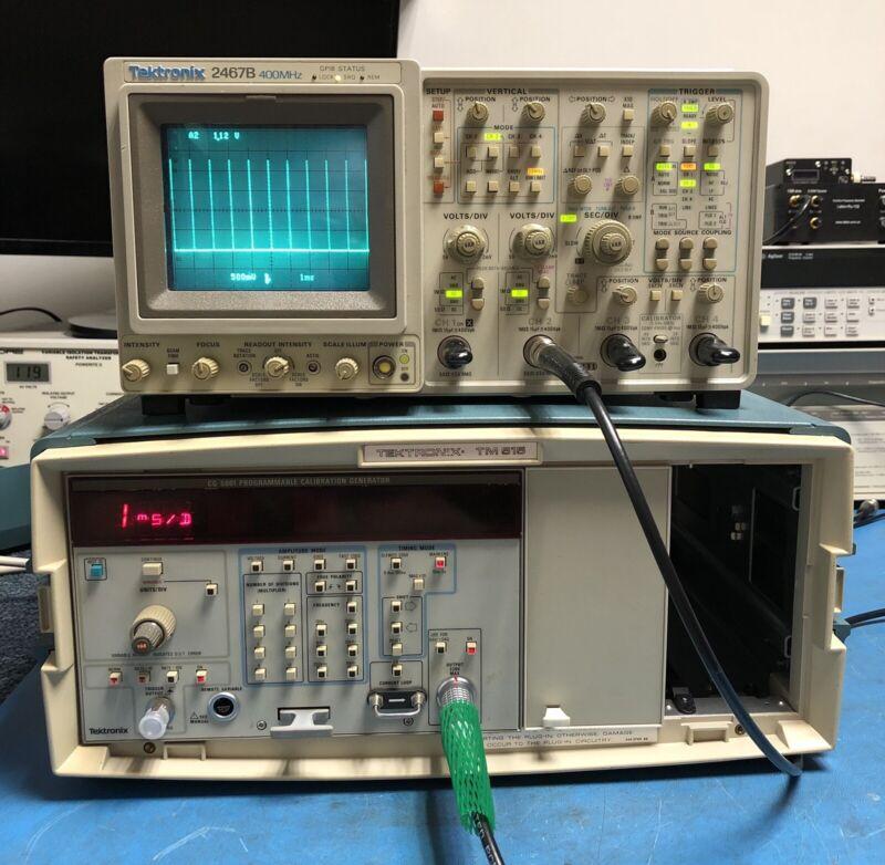Tektronix CG5001 Calibration Generator
