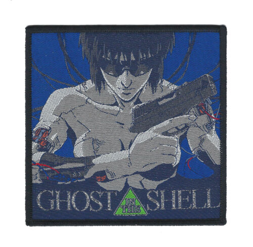 Ghost In The Shell Patch movie-anime-blade runner-mad max-akira-punk-robocop