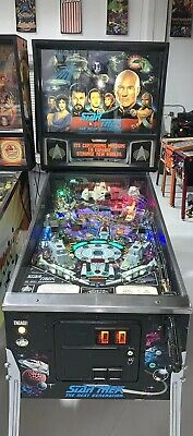 Star Trek Next Generation Pinball Machine Williams Coin Op Arcade LEDs Free Ship