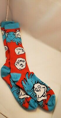 Thing 1 Thing 2 Novelty Socks Women's