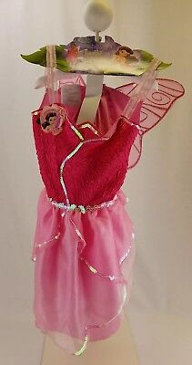 Disney Tinkerbell Costume Ages 3+ Size 4-6x Halloween Costume