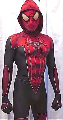 New City Amazing Hoodie Spider-Man 3D Printing With The Muscle Shading Costume - Amazing Spiderman Suit