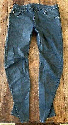 G Star Raw Jeans Arc Zip 3D Slim Dark Wash Men's Sz 32