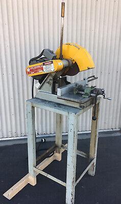 5 Hp Everett Saw Model 12s 12 Abrasive Cutoff Chop Saw. 208-230460 3ph