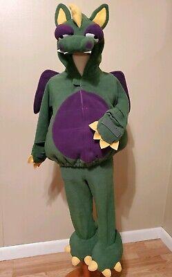 Old Navy Dragon Halloween Costume (EUC Old Navy Green Dragon Wings Costume 2T 3T Fleece Warm Halloween)