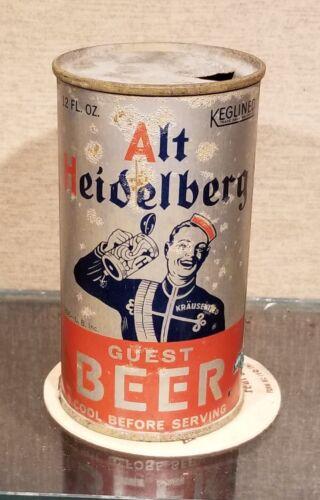 1930S ALT HEIDELBERG FLAT TOP BEER CAN COLUMBIA BREWING TACOMA WA OI IRTP