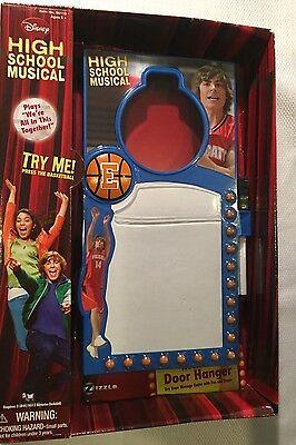 Disney High School Musical Rockin Door Hanger Easy Message Center Christmas ()