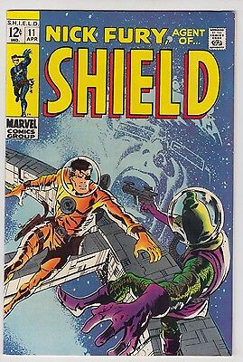 SHIELD #11 MARVEL COMICS FINE/VERY FINE CONDITION BARRY SMITH COVER!