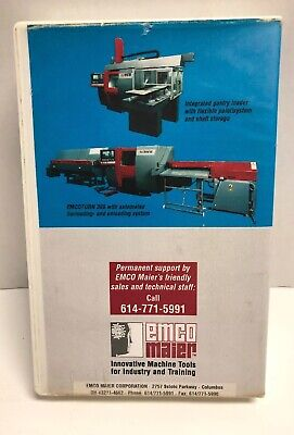 Emco Turn 365 Modular Cnc-turning Center For Chuck Barfeed Work Vhs