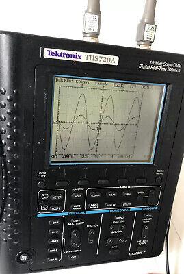 Tektronix Ths720 100 Mhz2 Channel Scope Meter2probespsusedin Good Condition