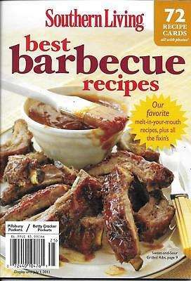Southern Living Best Barbecue Recipes Magazine Recipe Cards Ribs Chicken