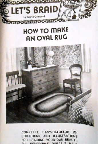 How to make an oval rug: rug braiding instructions Let