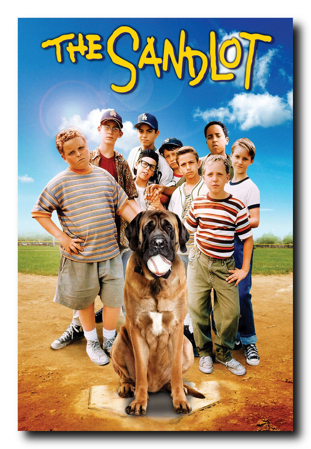 "The Sandlot Glossy Finish Movie Poster - 24"" x 36"" Ready To"